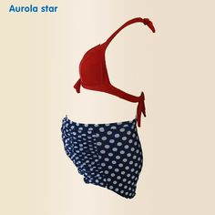 7a5f7b61d35af US $13.8 48% OFF|Aliexpress.com : Buy Pregnancy Swimwear Women Pregnant  Swimsuit Maternity Woman High Waisted Beach Sexy Bikini Sets Retro Suit  Solid Dot ...