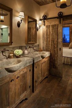 As one of the most intimate beautiful space in all of home, designing a bathroom with rustic decor would be quite well. It helps you connect with nature as rustic decor includes elements such as unfinished wood, natural stones, log furniture and accessories and more. Different from the traditional sense of heavy and dark rustic […] #homedecoraccessories #RusticLogFurniturebeautiful