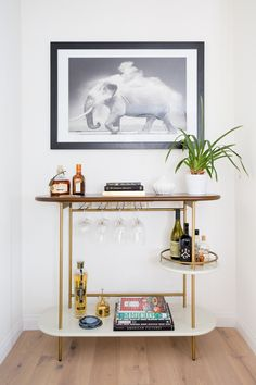 "excellent pointers on ""gold bar cart decor"". They are offered for you on . Obtain excellent pointers on ""gold bar cart decor"". They are offered for you on ., Home coffee stations,Obtain excellent pointers on ""gold bar cart decor"". Decor, Contemporary House Design, House Design, Bar Console, Furniture, Interior, Bars For Home, Dream Spaces, Home Decor"