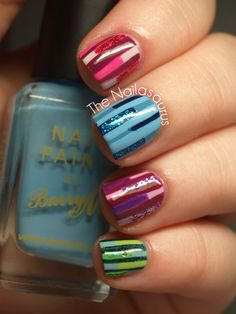 I'm probably going to end up with this mani at some point. :)
