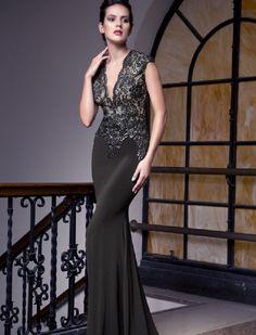 Baccio Sabrina Painted Long Dress