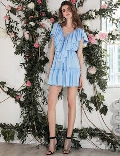 MANURĺ | Josephine Dress Casual, Editorial, Shopping, Collection, Dresses, Style, Fashion, Blue Nails, Fashion Styles