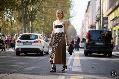 Street style at Milan Fashion Week SS15 #MFW