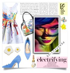 """""""electrifying beauty"""" by kriz-nambikatt on Polyvore featuring Anuschka, Paul Andrew, Tom Ford, Ross-Simons and Georgia Perry"""