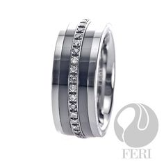 9mm FERI Plangsten Ring