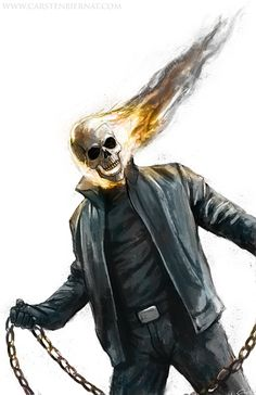 Ghost Rider by Carsten Biernat