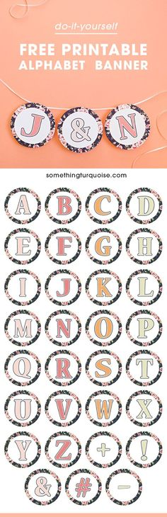 Free Printable Complete Alphabet And Number Burlap And Chalkboard