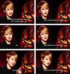 """Which cast member would you want as an ally?"""