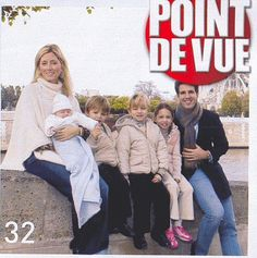 """Crown Prince Pavlos and Crown Princess Marie-Chantal of Greece debut their child, Prince Odysseus-Kimon, along with their 3 older children in the French magazine """"Point de Vue"""". Queen Victoria Descendants, Marie Chantal Of Greece, Greek Royalty, French Magazine, My Prince, Royal Families, Princess, Couple Photos, Children"""