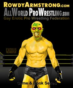 EXODUS - Pro Wrestler from AllWorldProWrestling.com Game & RowdyArmstrong.com Series of Books. Isn't he HOT AS FUCKING HELL? inspired by the Zombie Exodus Series (Games By JimD) from Games by JimD  In The All World Pro Wrestling game on Heart's Choice by Choice of Games  #Zombie #Exodus #ZombieExodus #ProWrestling #Wrestling #Gay #GayProWrestling #GayWrestling #Muscle #MuscleBoy Wrestling Games, Wrestling News, Red Hair, Black Hair, Choice Of Games, Confused Feelings, Scott Evans, Games Zombie, Muscle Boy