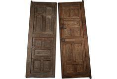 Spanish Colonial Temple Doors