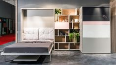 Multi-functional transformable furnishing by Clei