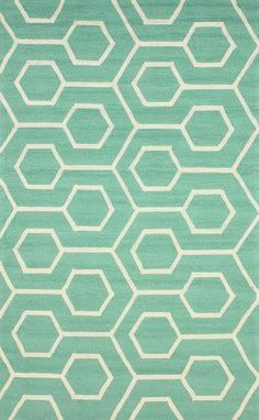 This is a rug, but love the look/color of it maybe for tile in the powder bath?