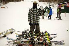 """LiLi Kins aka """"Dah Filma"""" and his ski cabin creation at #Sugarbush"""