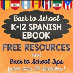 Find some inspiration for your classes this year with tips and freebies from many of the top Spanish sellers on TpT. Each page is packed with tips, freebies, and other resources to help you add some fun to your classroom.