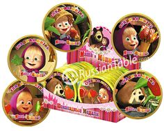 "Chocolate Medal ""Masha and Bear"" (Sweet Life)"