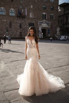 Milla Nova - Tonia - Bridals By Natalie Gorgeous Wedding Dress, Wedding Dress Styles, Dream Wedding Dresses, Boho Wedding Dress, Bridal Dresses, Beautiful Dresses, Gown Wedding, Royal Wedding Gowns, Dream Dress