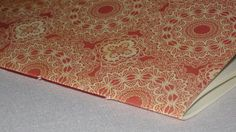 Notebook Sewn Spine  Corals and Cream by inkmeetspaperdesign, $10.00