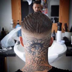 Bike Tattoos, Body Art Tattoos, Tribal Tattoos, Sleeve Tattoos, Barber Haircuts, Haircuts For Men, Mask Tattoo, I Tattoo, African American Tattoos