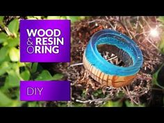 HOW TO MAKE SECRET WOOD RINGS (NO POWER TOOLS) Tutorial polymer clay resin craft diy - YouTube