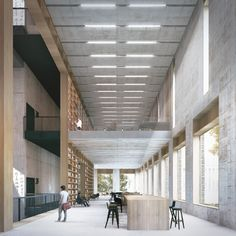 Image 13 of 16 from gallery of Tradition and Modernity Come Together in Mecanoo and HS Architects' Proposal for the Longhua Art Museum and Library. Photograph by Mecanoo