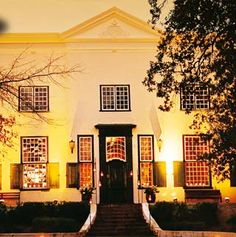 The Uitkyk Wine Estate Wine Chateau, Cape Colony, Provinces Of South Africa, South African Wine, Cape Dutch, Dutch House, Cape Town South Africa, Lush Garden, Once In A Lifetime