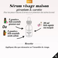 DIY: Face serum for mature & dull skin - To prevent age spots – or age spots – from appearing, you need to take care of your skin every - Health And Beauty Tips, Beauty Make Up, Diy Beauty, Beauty Hacks, The Body Shop, Homecoming Spirit Week, Homemade Cosmetics, Dull Skin, Face Serum