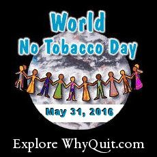 Tobacco-free world — imagine a world without cancer, heart disease and unwanted deaths!