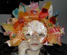 Masque de carnaval pour enfant en décopatch - Trucs et Deco