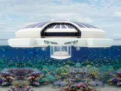 Solar Floating Resort by Michele Puzzolante » Yanko Design I want to live in one of these.