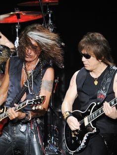 B'z with Aerosmith