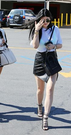 Kylie Jenner's style is amazing. i love her Celine Nano its adorable.
