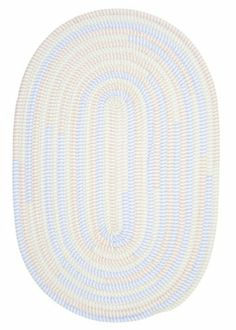 Colonial Mills Ticking Stripe Oval TK58 Starlight 2' x 3' Oval by Colonial Mills. $39.00. Cotton blend ticking stripe fabrics in soft colors create the perfect bedroom accent rug.