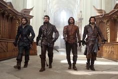 The Musketeers - Series II via Jessica Pope's Twitter.