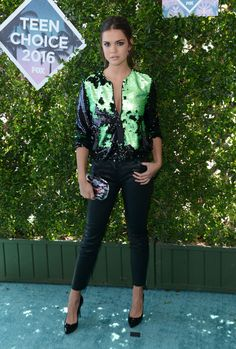 Maia Mitchell in Emporio Armani | Teen Choice Awards 2016