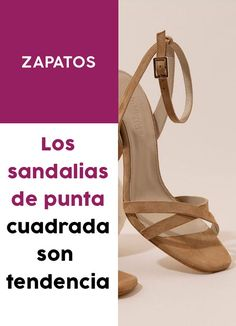 ¿Te sumas a la #tendencias de las #sandalias de punta #cuadrada? #zapatos #shoes #accesorios Zapatos Shoes, Sandals, Fashion, Totes, Footwear, Trends, Accessories, Shoes Sandals, Moda