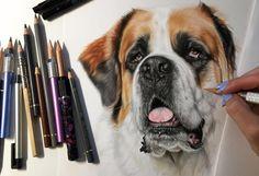 Pet portrait artist  IBD Warrior💜💪🏻No colon still rollin👊🏻 Saved by Grace😇☝🏻️ *Booked 2016/2017* FaceBook-Laharstudios Laharstudios@yahoo.com
