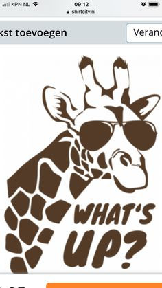Giraffe what's up Silhouette cameo flex application Silhouette Machine, Silhouette Cameo, T Shirt Stencils, Ballerina Drawing, Stencil Patterns, Realistic Drawings, Love Sewing, Vinyl Designs, Silhouette Projects