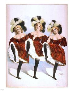 cancan amp saloon girls on pinterest moulin rouge cabaret