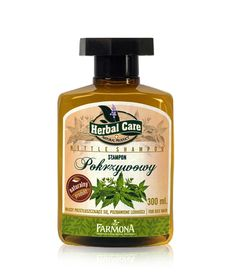 Herbal Care Field Nettle Phyto - Shampoo for Oily Hair 300 ml   Beauty comes from nature Nettle Shampoo - Fullness and Freshness | Szampon Pokrzywowy - Farmona Laboratorium Kosmetyków Naturalnych