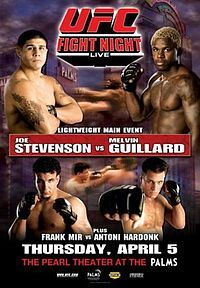 UFC Fight Night: Stevenson vs Guillard.