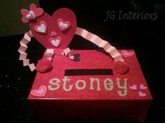 valentine shoebox for school