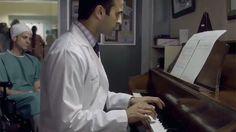 "#SavingHope's #HuseMadhavji playing Erik Statie's ""Gymnopedie 1"". #CTV"