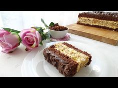 Ciasto puszek v. 2 - YouTube Cream Cheese Flan, Sponge Cake, Cheddar Cheese, Vanilla Cake, Marcel, Cakes, Food, Youtube, Just Bake