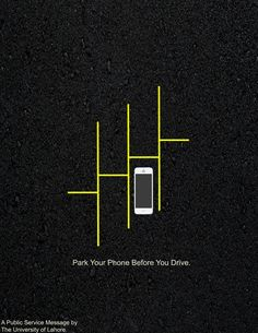 According to a study released by the National Highway Traffic Safety Administration (NHTSA), 80 percent of automobile accidents and 65 percent of near-accidents involve at least some form of driver distraction within three seconds of the crash or near-miss. Of which, most common driver's distraction is using cell phone while driving. The University of Lahore plead to put away your cell phones before you drive. Because, texting while driving is too dangerous and it do not worth your life.