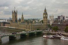 London Eye - View on Westminster   by Kees Verburg