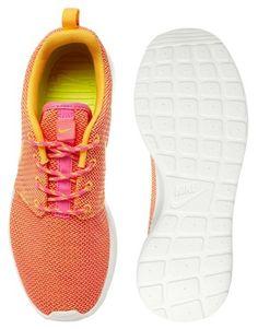 Enlarge Nike Orange Rosherun Trainers