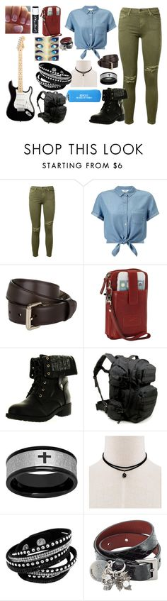 """""""Untitled #68"""" by gee-mownay ❤ liked on Polyvore featuring Current/Elliott, Miss Selfridge, Gucci, Refresh, Chapstick, Alexander McQueen and Happy Jackson"""