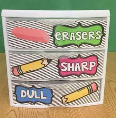 Great way to organize and manage pencils in the classroom!