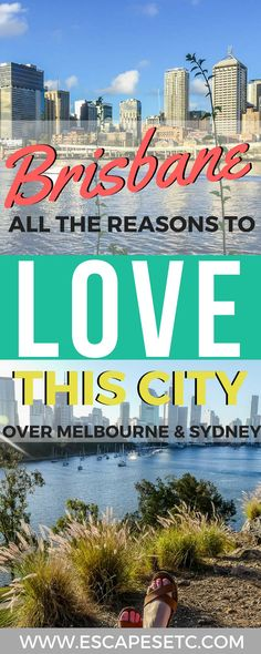 If you've spent time travelling in Australia, chances are you will have heard people arguing which is better- Sydney or Melbourne. Well, I'm going to throw a curve ball here and prove to you that Brisbane is the best! Find out here why I love Brisbane and why you will too. #brisbaneanyday #brisbane #sydneyvsmelbourne #australia